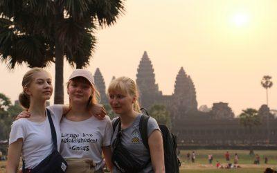 Verdensborgerne i Cambodja
